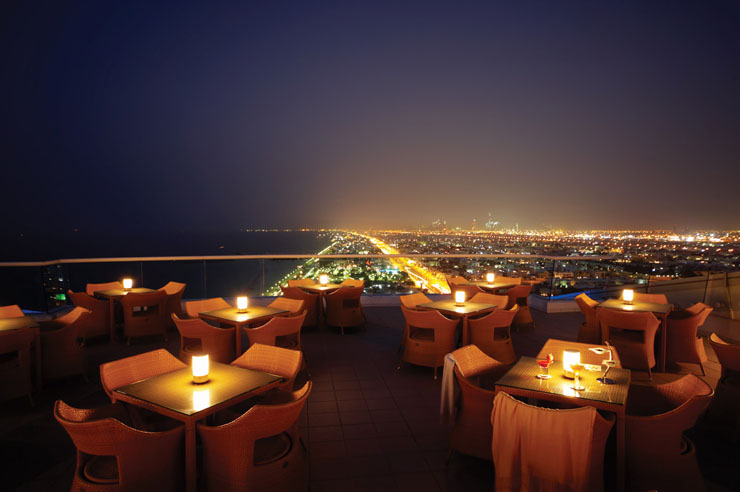 Top five Restaurants with the best views ever 1854 Bar and Lounges Uptown Jumierah