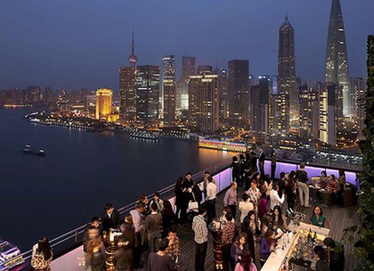 Top five Restaurants with the best views ever ipad art wide IndigoShanghaiView 420x0