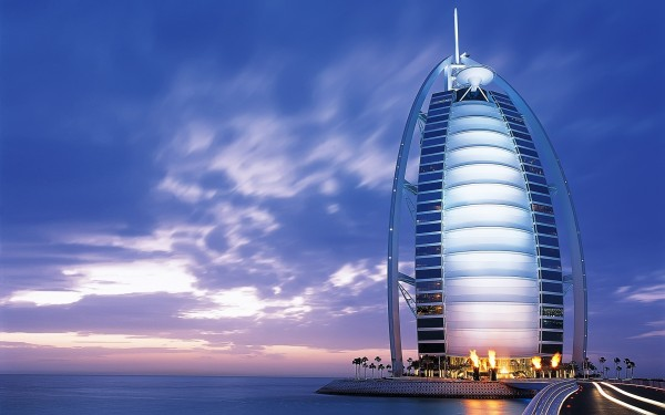 A Hotel to pamper even the gods burj al arab hotel hd wallpaper 600x375