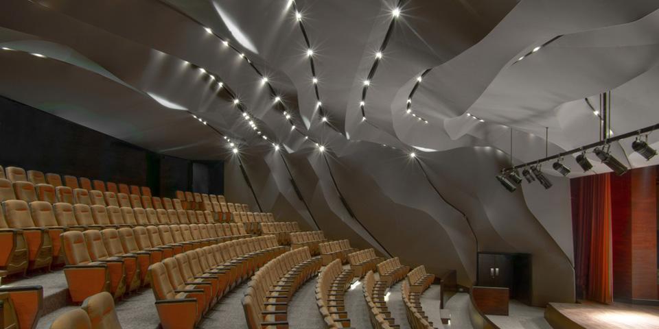 Magma Architecture Al Qasba Theatre Design Home