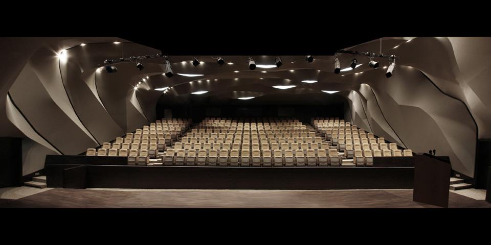 Magma Architecture – Al Qasba Theatre magma architecture