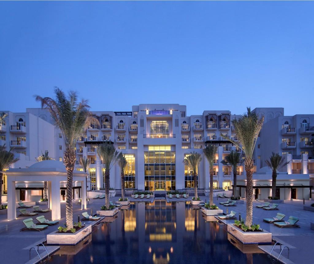 Luxury resort by Antara – Eastern Mangroves hotel & spa in Abu Dhabi  the pool deck eastern mangroves hotel spa by anantara1 1024x860