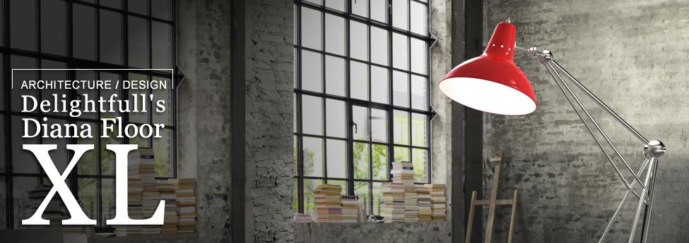 Modern touch of a shining lamp – Diana Floor Lamp XL  Slider Blog EAU 15nov