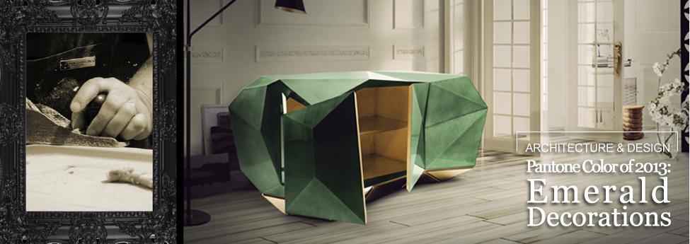 Pantone Color of 2013: Emerald Decorations Slider Blog EAU 12dec