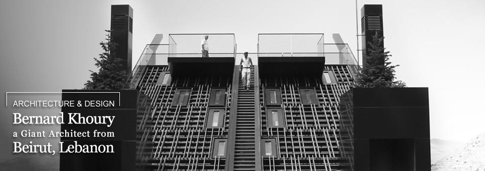 Bernard Khoury, a Giant Architect from Beirut, Lebanon Slider Blog EAU 3dec