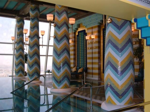 The Top 3 Hotel Pools in Dubai  The Top 3 Hotel Pools in Dubai burj al arab2 e1357904794911