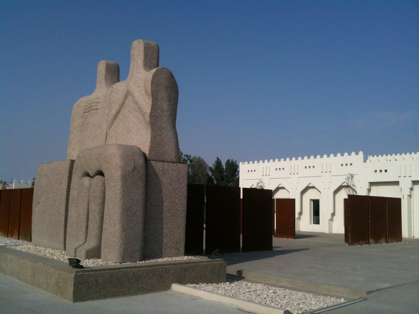 Mathaf arab museum of modern art doha qatar design home for Modern house qatar