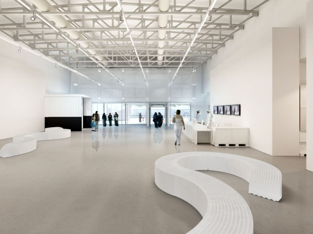Mathaf Mathaf – Arab Museum of Modern Art, Doha - Qatar Mathaf Arab museum modern art 03 e1360927822353