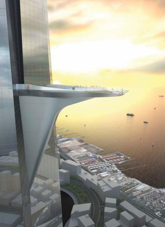 Kingdom Tower project in Jeddah by EC Harris/Mace Tallest Skycrapper Kingdom Tower Saudi Arabia 041 e1362052192303