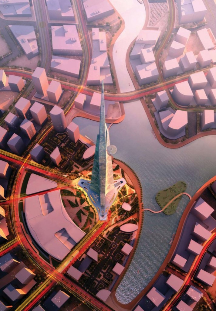 Kingdom Tower project in Jeddah by EC Harris/Mace Tallest Skycrapper Kingdom Tower Saudi Arabia 06 712x1024