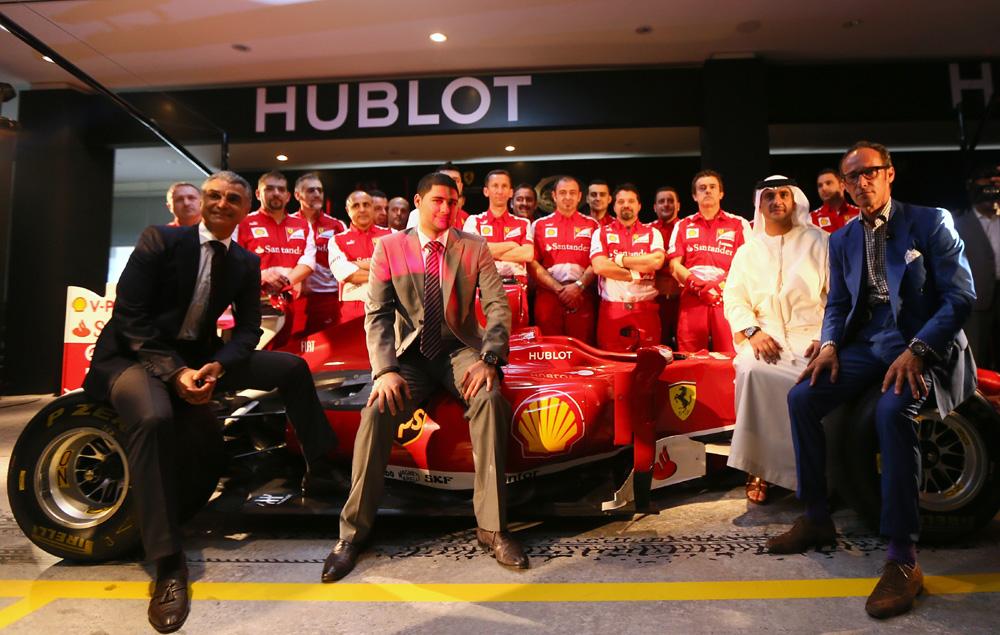 Ferrari Celebrate 25 Years in the UAE 58661