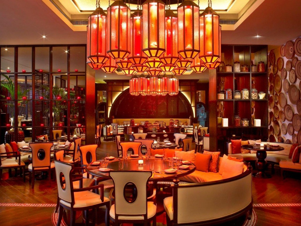 The trendy W Hotel Doha is home to the Spice Market restaurant W Doha June 2012 561 1024x768