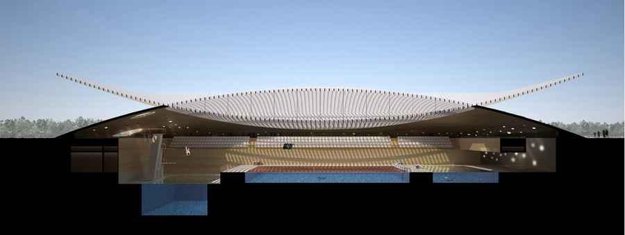 Koç Primary School Indoor Swimming Pool Istanbul koc primary school swimming pool e230712 61
