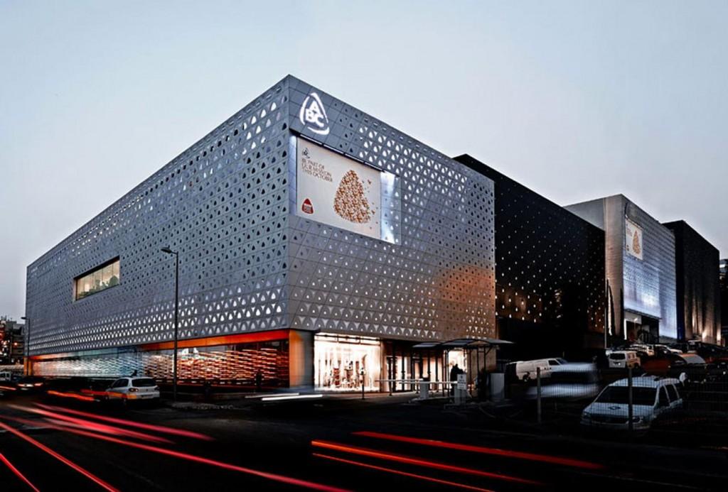 nARCHITECTS nARCHITECTS: ABC Dbayeh Mall Façade in Beirut, Lebanon nARCHITECTS ABC Dbayeh Mall Beirut Lebanon001 1024x693