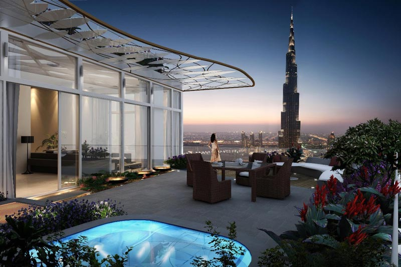 Luxury launches and positive outlook in dubai property for Dubai luxury places
