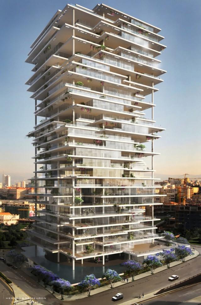 Beirut_Terraces_Herzog_&_de_Meuron_00  Beirut Terraces / Herzog & de Meuron   Beirut Terraces Herzog  de Meuron 00 e1368522275334