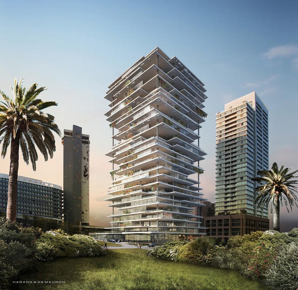 Beirut Terraces / Herzog & de Meuron   Beirut Terraces Herzog  de Meuron 012 1024x999