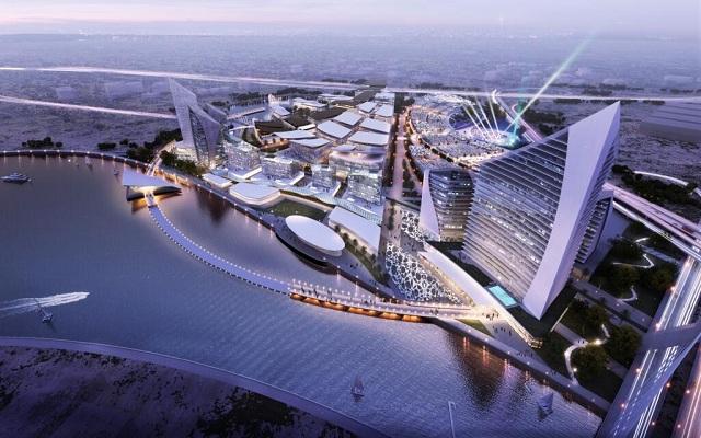 Sheikh Mohammed announces 'Dubai Design District' Dubai Design District 1