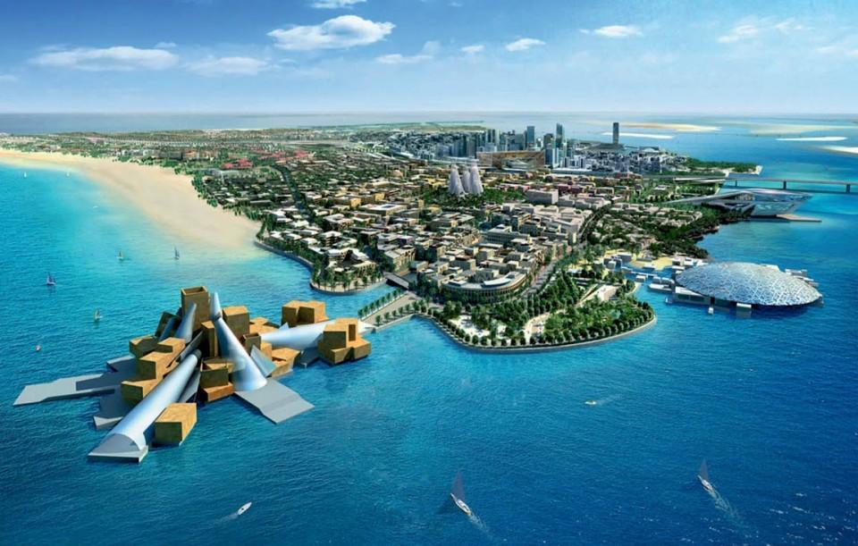 Guggenheim: Abu Dhabi – New York mm guggenheim abu dhabi design by frank gehry 02 e1371138992323