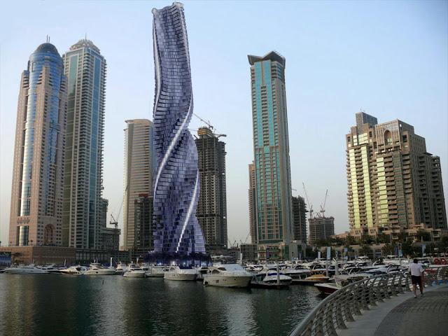 Rotating Tower Dubai uae