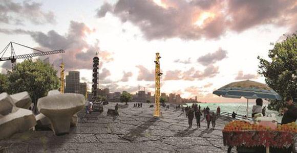 Beirut Field – An idea project by Jan Ackenhausen, Frederic Karam and George Salameh Beirut Field El Hub 07 2013 Body 01