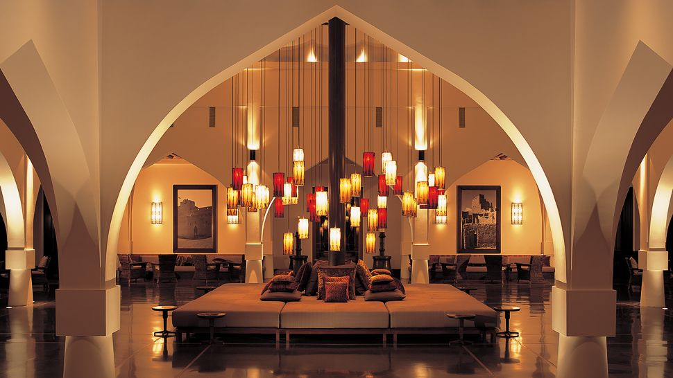 Luxury Experience Omani Scent Amouage at Hotel The Chedi The Chedi Muscat lobby