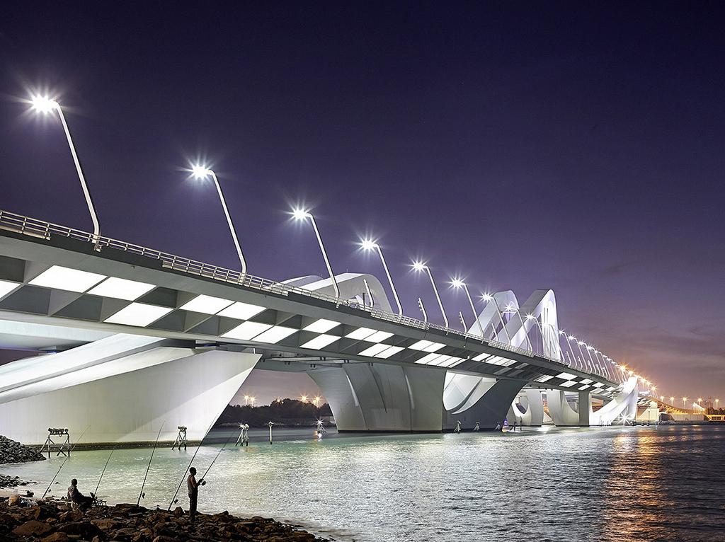 Zaha Hadid's Sheikh Zayed Bridge in Abu Dhabi Arch2O Sheikh Zayed Bridge Zaha Hadid 26