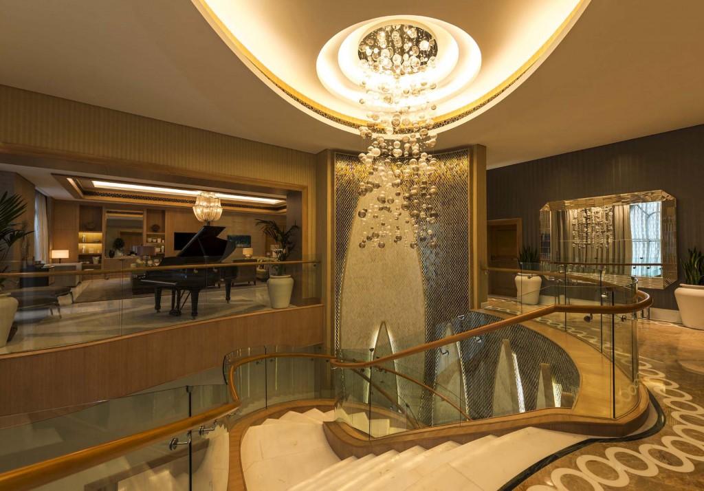 St. Regis Saadiyat Island Reveals Largest Hotel Suite in the United Arab Emirates St