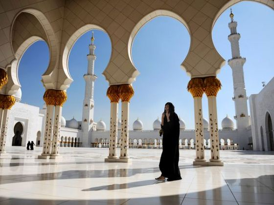 Top 10 Cool Things About Abu Dhabi abu dhabi grand mosque 24941 600x450