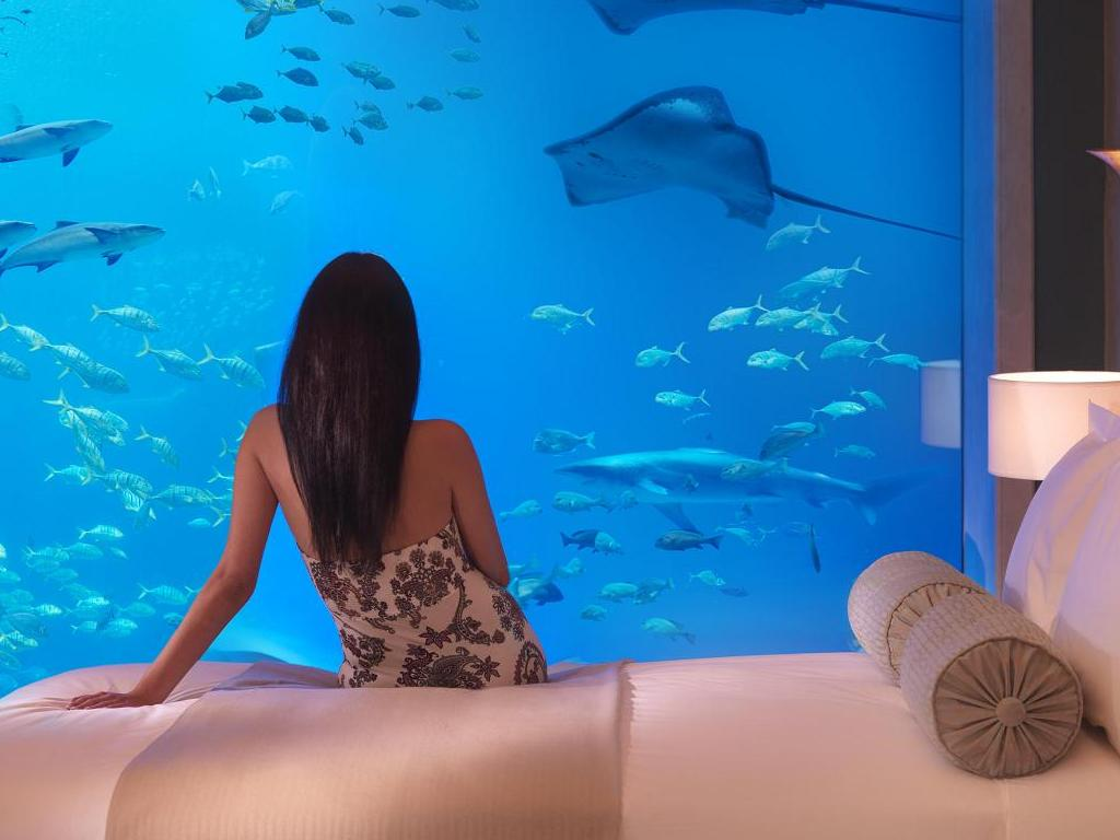 Top 10 weird things to do in Dubai underwater hotel dubai 04