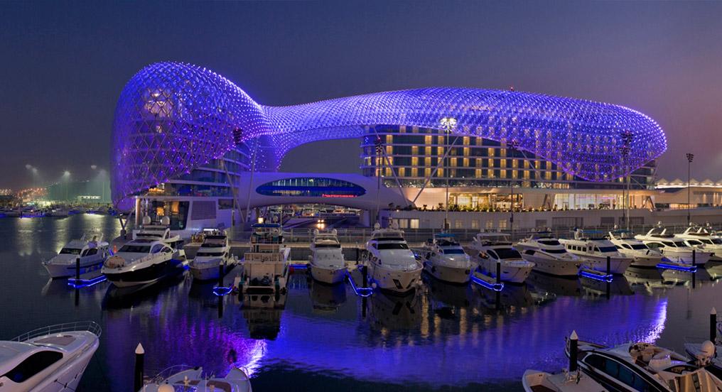 Top 5 Abu Dhabi Architecture Viceroy Hotel Yas Island Abu Dhabi