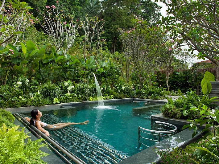 BEACH VILLAS 10 BEST BEACH VILLAS TO REST IN 2014 10 of the Worlds Top Holiday Spas and Wellness Retreats ESPA Resorts World Sentosa Singapore