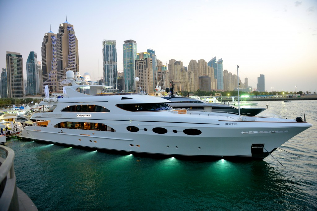 Dubai International Boat Show to Showcase 30 Luxury Boats Dubai International Boat Show 1024x682