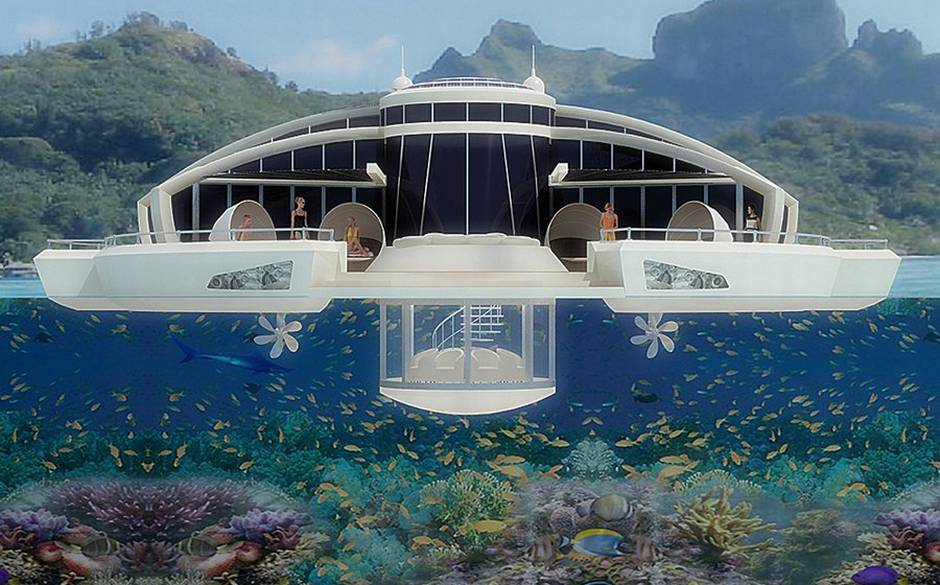 The Next Big Thing: the floating hotel Maldives floating hotel 2