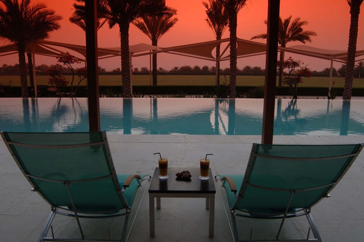 TOP DESIGN DESTINATIONS – PARADISE IN THE MIDDLE EAST Desert Palm Retreat Dubai