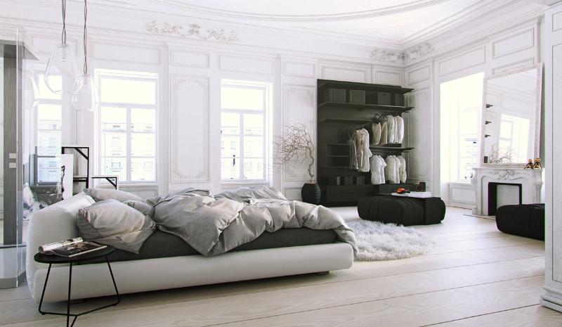 The Coolest Interior Design Trends To Make You Crazy parisian soft black and white
