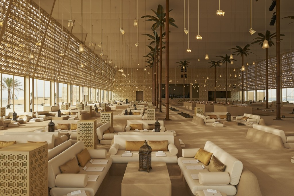 An Arabian Island: Chanel's Resort 2014 15 CRUISE DUBAI DECOR PICTURES BY OLIVIER SAILLANT 005 1024x682