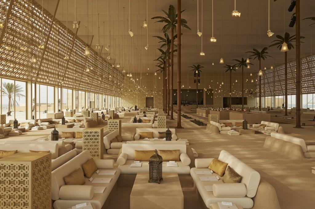 An Arabian Island: Chanel's Resort 2014 15 CRUISE DUBAI DECOR PICTURES BY OLIVIER SAILLANT 005 1024x682