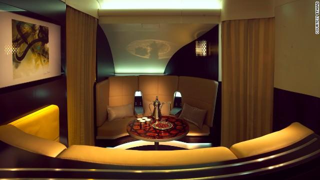 New Standard for Inflight Luxury Etihad Airways Luxurious Passenger Jets 3