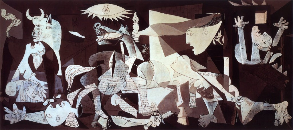 WORLD'S MOST EXPENSIVE PAINTINGS EVER SOLD Picasso   s Guernica 1024x455