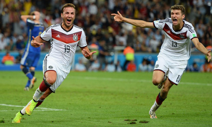 Germany wins world cup 2014!  world cup 2014 biggest winner germany goal