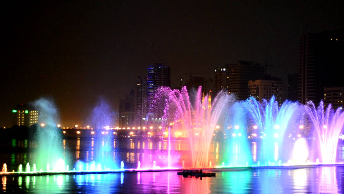Best Qatar's Events: Fountain show on Corniche  Best Qatars Events Fountain show on Corniche