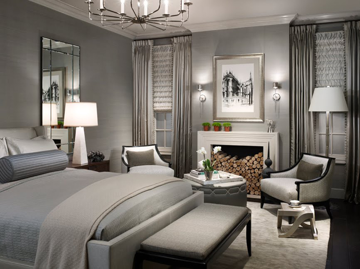 fifty shades of gray Beautiful and inspired bedrooms: Fifty Shades of Gray beautiful bedroom 15 shades of gray 2014