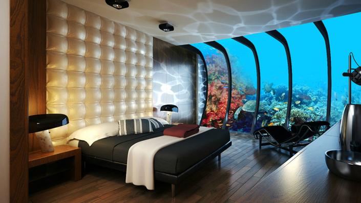 10 Most incredible bedrooms with breathtaking views-underwater-luxury-bedroom