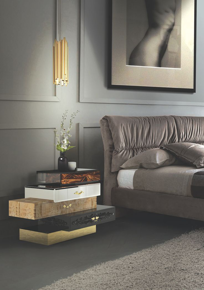 5 LUXURIOUS SIDE TABLES TO DECORATE YOUR BEDROOM Design Home