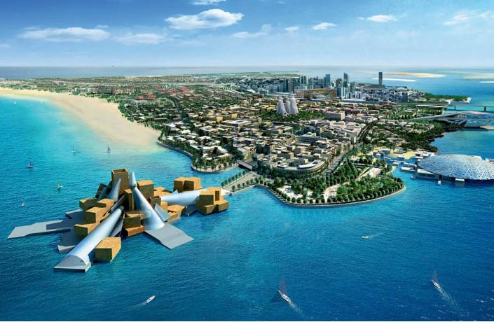 Saadiyat-Island-Abu-Dhabi  Saadiyat: the architectural headquarters of today Saadiyat Island Abu Dhabi1