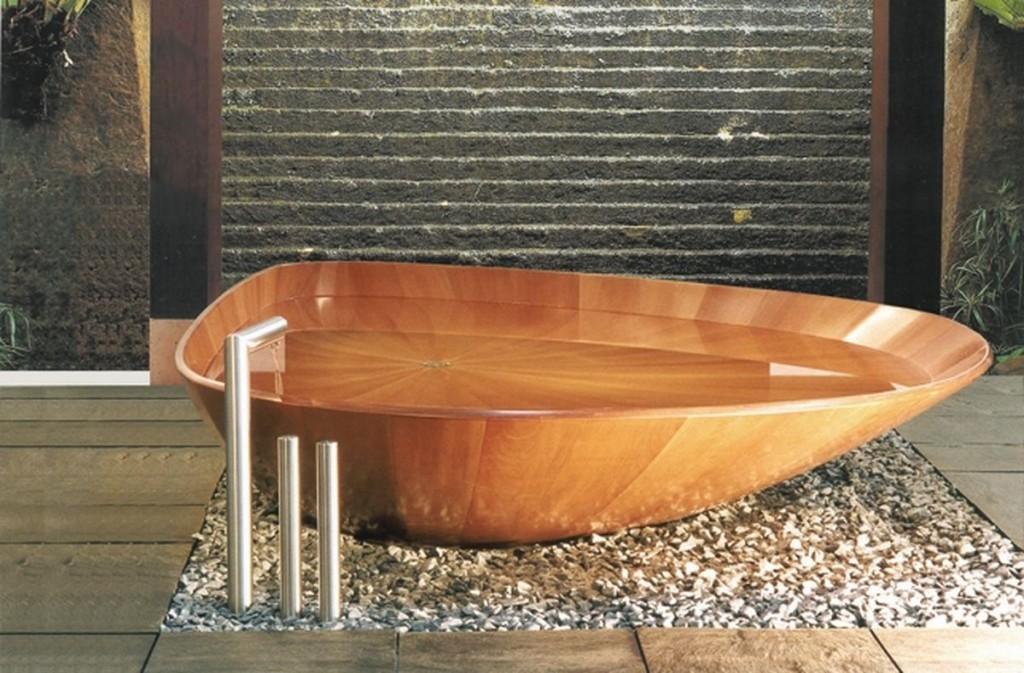 most amazing bathtubs-wood bathtub