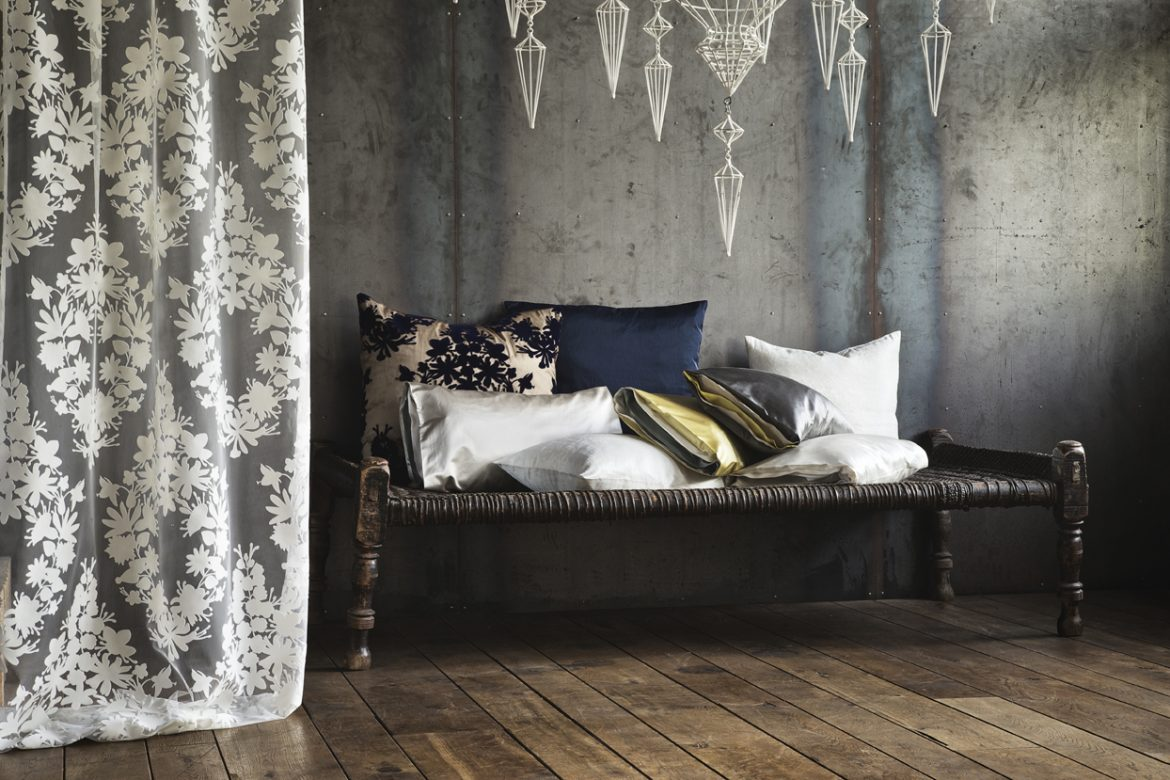 trendy fabrics and wallpapers for luxury home interiors. Black Bedroom Furniture Sets. Home Design Ideas