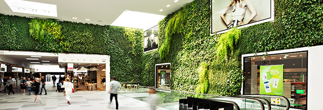 Injecting life into corporate interiors design home for Interior garden designs