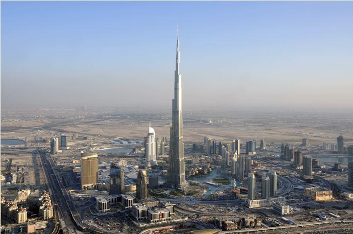 hotel The Biggest Hotel in The World Burj Khalifa